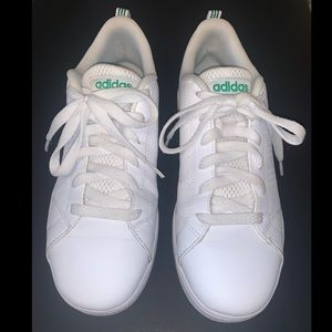 Adidas Neo Advantage Comfortbed All White Shoes